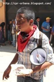 Marcha Nacional por la Educación inicio hoy al salir de Chimaltenango