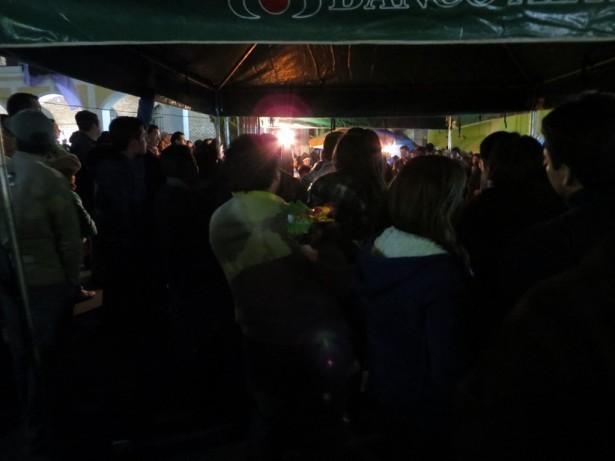 La Serenata finalizó a la media noche, con la participación de cientos de personas que a lo largo del concierto se turnaron para escuchar los sones sampedranos y los mensajes de solidaridad que fueron elevados al viento con la esperanza de que fueran escuchados por Rubén.