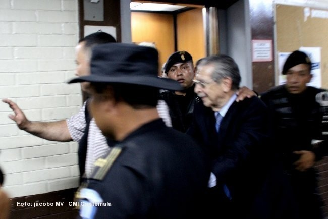 Ríos Montt fue condenado por genocidio ixil y crímenes de lesa humanidad durante la guerra en Guatemala, en el período de 1982 a 1983. Foto Jcb