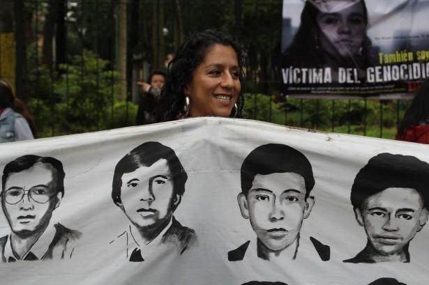 30 de Junio la organización H.I.J.O.S. Guatemala junto a diversas organizaciones de Derechos Humanos una vez más salio a las calles con la consigna También Soy Víctima del Genocidio.