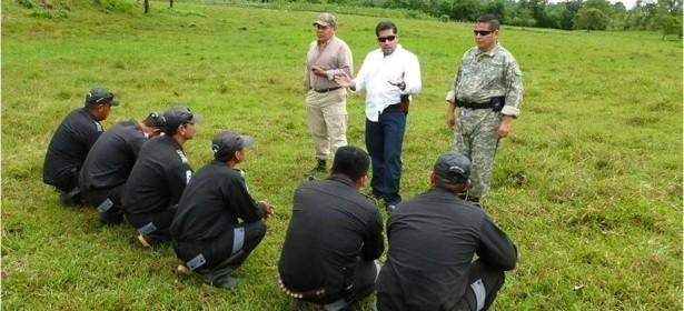 El entrenamiento de los agentes de seguridad privada, es también parte de sus actividades.