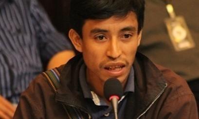 Representante comunitario de Ixcán (Foto: Norma Chamalé)