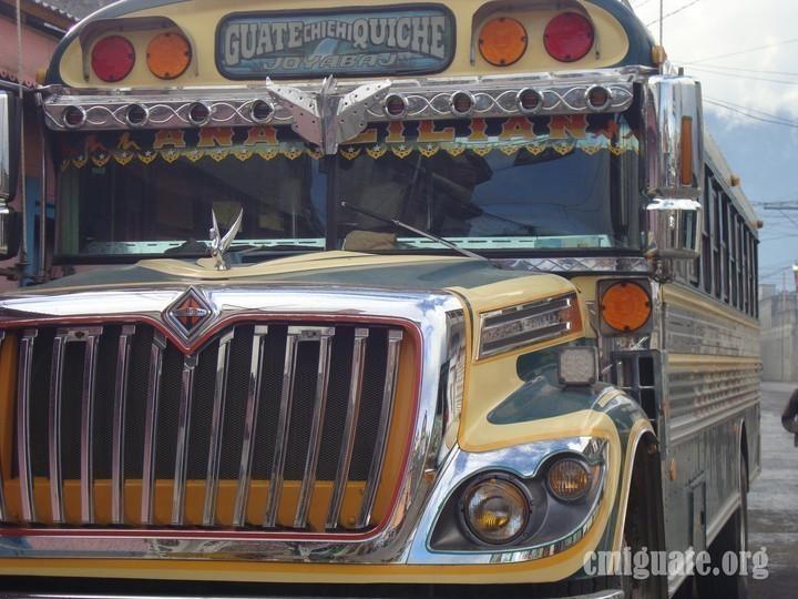 Bus extraurbano de Joyabaj