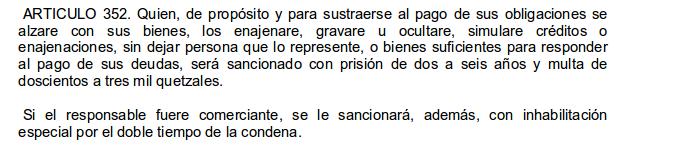 Fuente: Código Penal