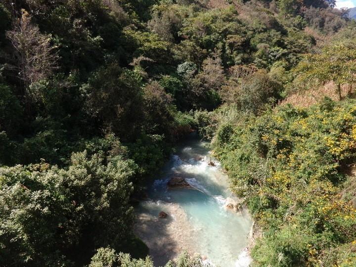 Río que paso sobre Salquil Grande