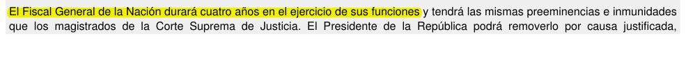 Fuente: Artículo 251, Constitución 1985