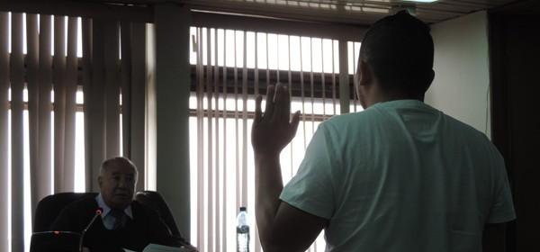 El tercer querellante acusó a Yolanda Oquelí, pese a que no forma parte del proceso acusatorio.