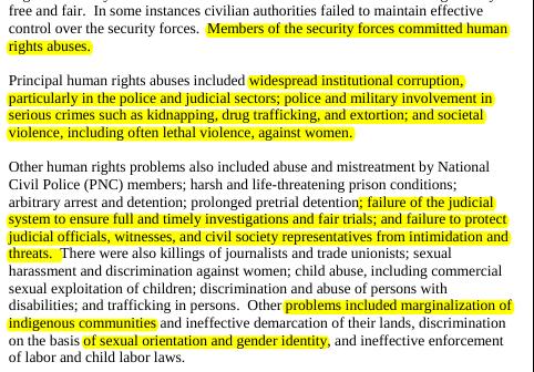 Fuente: Departamento de Estado, 2013