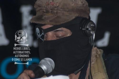 El SupMarcos será relevado (Foto: Articulación de Medios Libres en la Caravana por Galeano)