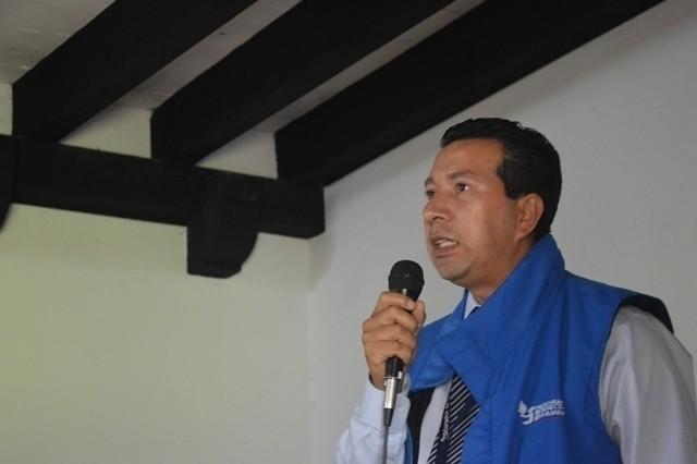 Carlos Guillermo. Auxiliar del PDH de Alta Verapaz. Foto: AJODER