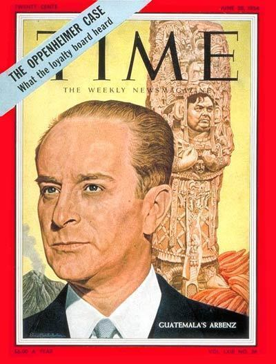 "Portada de la revista ""Time"", 28 de junio de 1954."