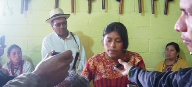 Mujeres y autoridades ancestrales, con claridad expresan los motivos de su inconformidad y rechazo por el estado de prevención.