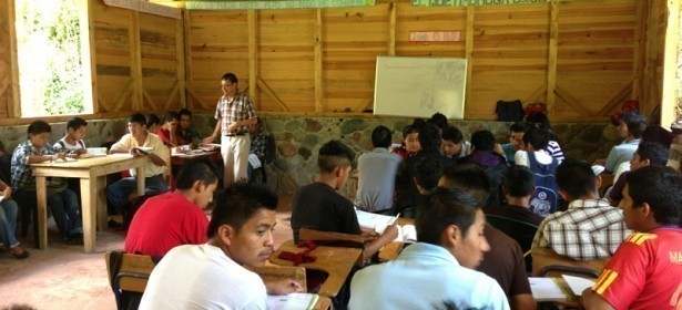 Estudiantes de Zona Reyna. Foto: PRODESSA