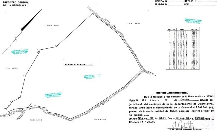 mapa INTA
