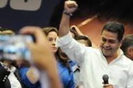 Presidente Hernández, luego de su reciente victoria electoral. Fuente: RTVE