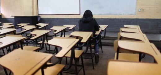Un aula de la Facultad.  Foto: Carlos Sebastián