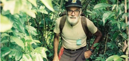 Ricardo Falla en la selva del Ixcán