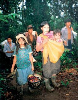 Mujeres en resistencia cargan el fuego, Ixcán