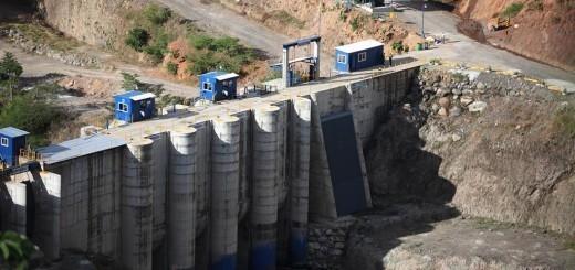 La hidroeléctrica el Cóbano. Foto: Carlos Sebastián.