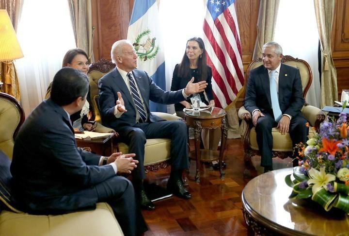 Biden reunidos con los presidentes centroamericanos. Foto: Secretaría de Comunicación Social de la Presidencia.