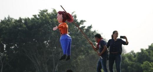 La piñata del día.  Fuente: Roderico Díaz