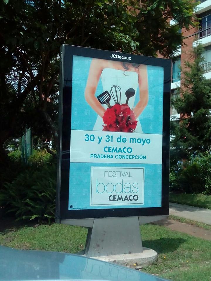 La campaña está en las calles de la ciudad capital.