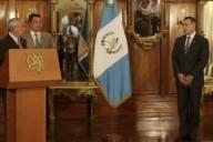 El nombramiento de Juan de Dios Rodríguez. Fuente: Presidencia de Guatemala