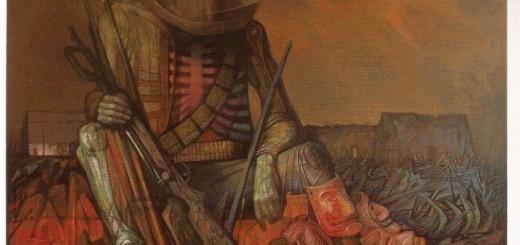 """guerrillero veterano"", Jorge González"