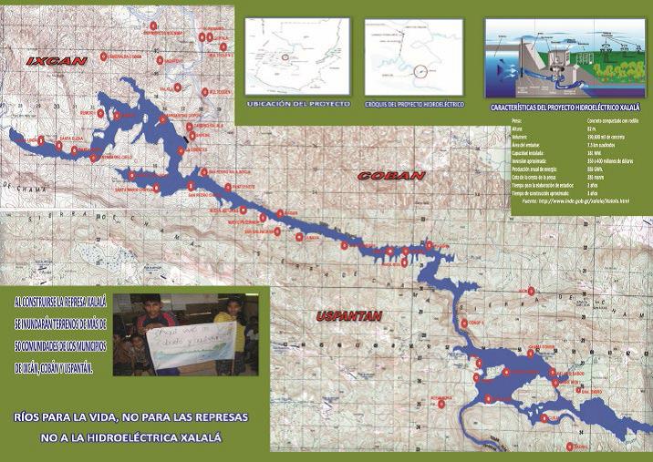 mapa inundacion xalala