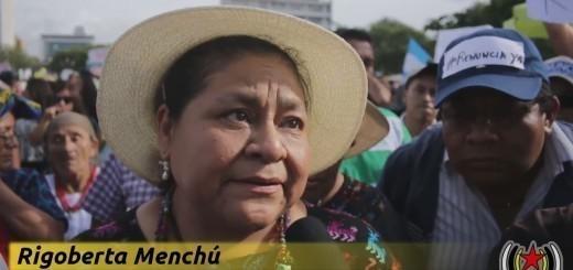 Entrevista a Rigoberta Mencú. 30/05/205