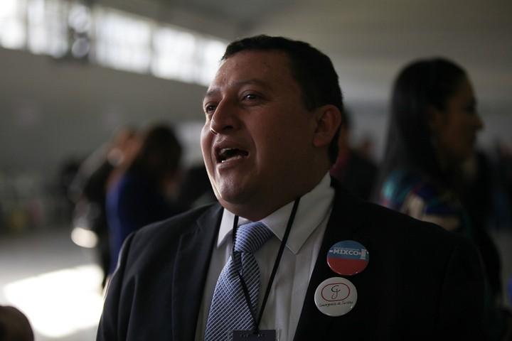 Juan Carlos Godinez, electo representante del Colegio de Abogados ante el Consejo Superior de la USAC. Foto: Carlos Sebastián