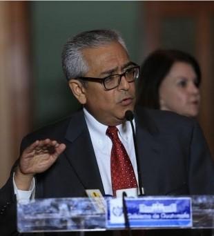 Ernesto Córdova, durante la conferencia de prensa en marzo de 2014. Foto: Presidencia de la República