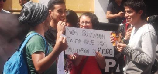 La alegría de la juventud rebelde. Foto: Fernando Soto