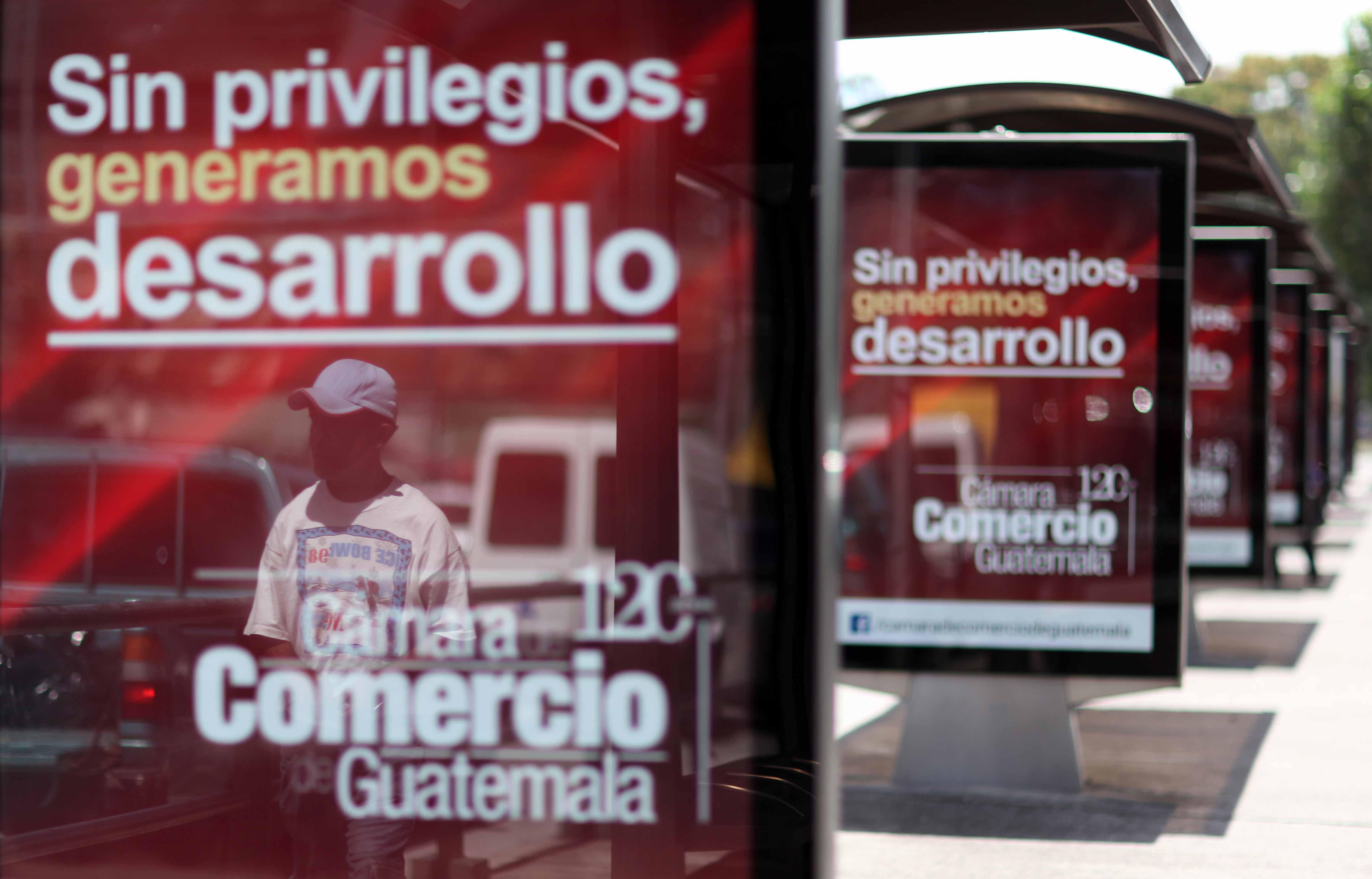 Los mupis de la cámara de Comercio. Foto: Carlos Sebastián (Nómada)
