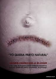 Campaña para el parto natural.
