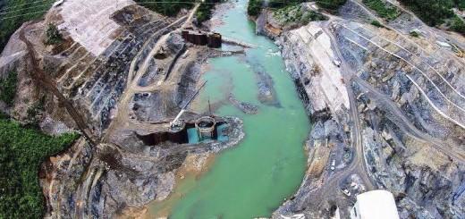 Río Cahabón. Foto recuperada de redes sociales, perfil de Bernardo Caal Xol.