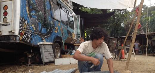 caravana por el Bueno Vivir en la Resistencia Pacífica La Puya