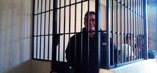 Rotondo en la cárcel. Foto de José Pablo Chumil, recuperado de miningwatch.ca