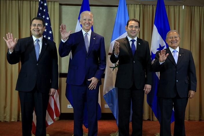 Estados Unidos y una de sus cinco prioridades: el Triángulo Norte. Foto: Presidencia de la República.