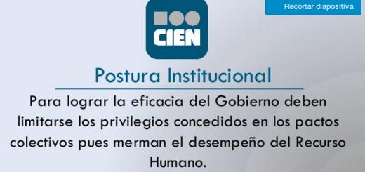 Presentación del CIEN, patrocinado por empresarios.