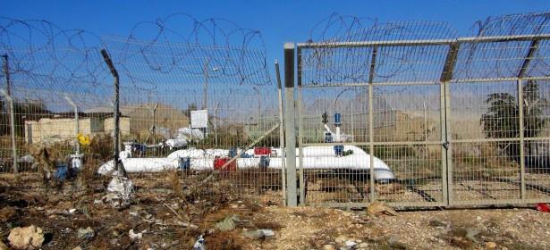 La distribución de agua de un asentamiento israelí en el norte del Valle de Jordan.