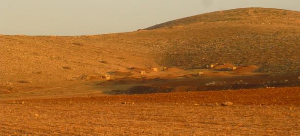 Un pueblo modelo beduino, construido por el ejército israelí para ensayar ataques.