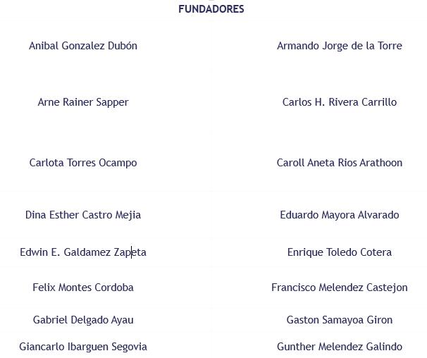 Fundadores ProReforma