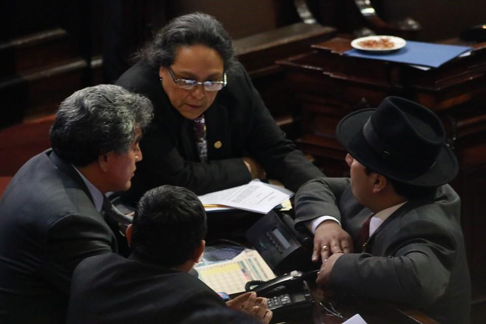 Una diputada y tres diputados son los representantes de la izquierda en la Octava Legislatura.