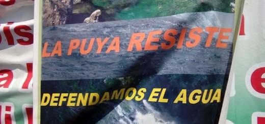 Tomado de las redes sociales de La Resistencia Pacífica La Puya