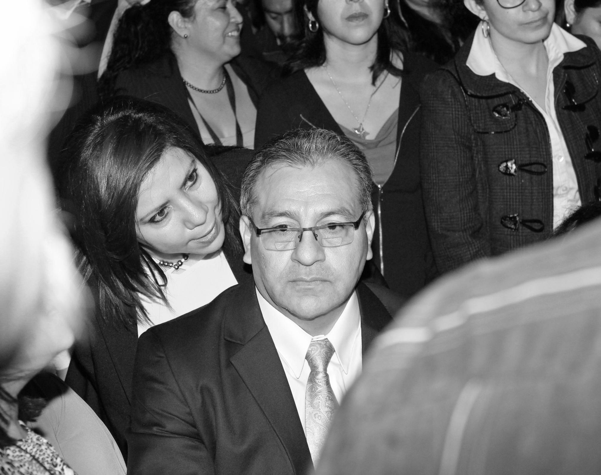 Bonerge Mejía a punto de ser declarado magistro Titular del Colegio de Abogados. Foto: Lucía Rivera