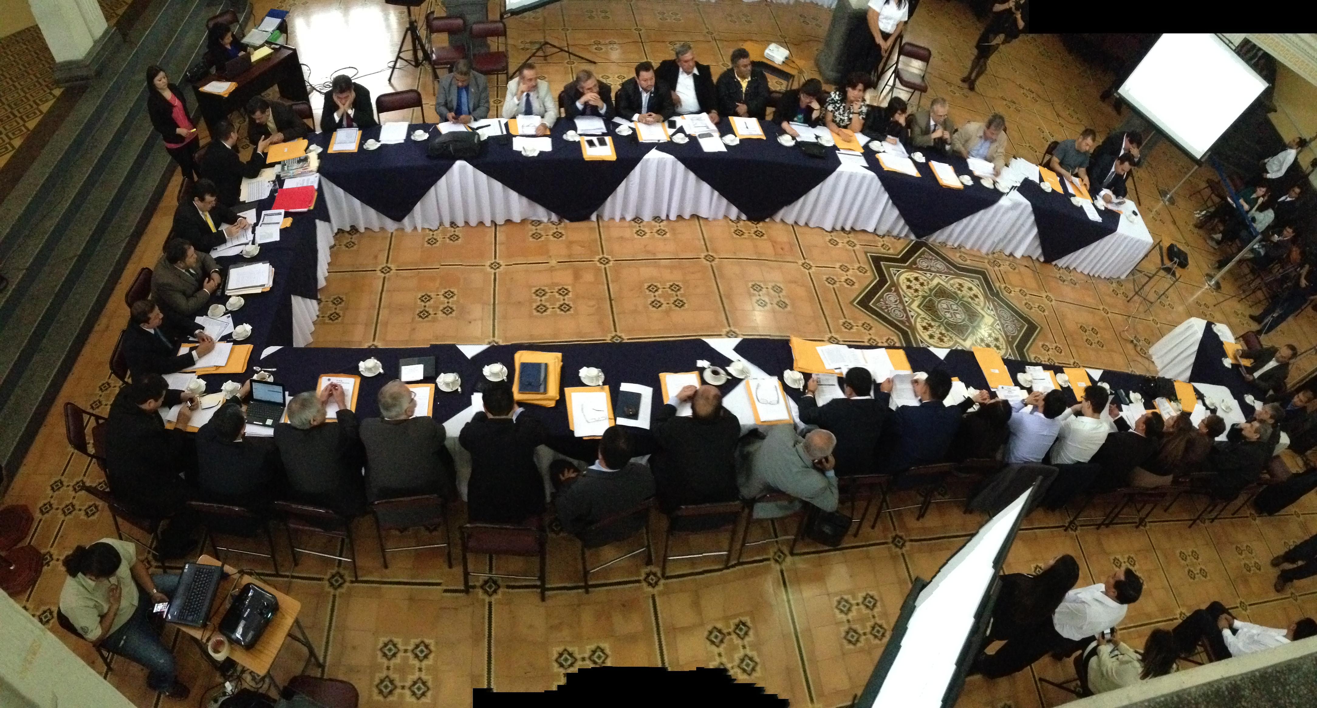 El Consejo Superior Universitario a punto de decidir sobre nuevo magistrado de CC. Foto: Sara Quiñonez