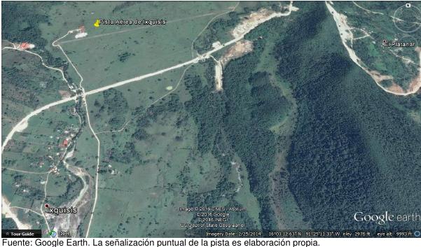 Ixquisis, cerca de la frontera entre Huehuetenango y México.