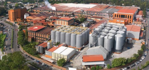 La planta principal de la Cervecería Centroamericana. Foto: www.cerveceriacentroamericana.com