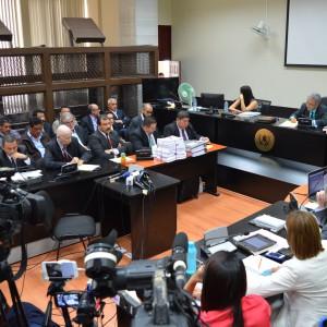 Una audiencia del Caso TCQ. Foto: PGN.